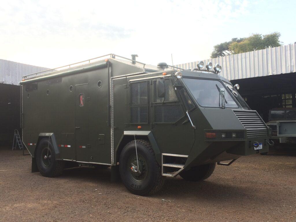 Scania 4x4 Motorhome